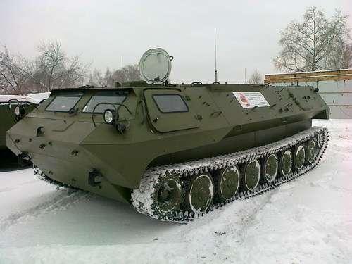 Броньований довгожитель МТ-ЛБ