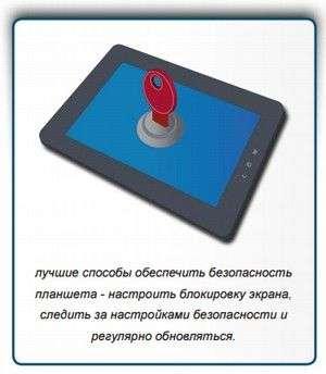 Безпека планшета