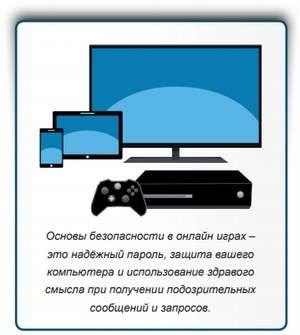Онлайн гри: правила безпеки